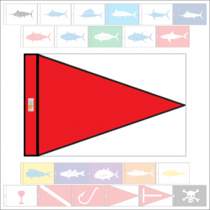 Fish Capture Flags - Fish Release Capture Flag - SunDot Fish Flags