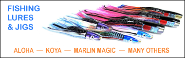 Fishing Trolling Lures & Jigs – Handmade Hawaiian Marlin Lures & Big Game Fishing Jigs